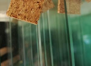 vidrio crudo